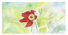 Granny Flower 3 Beach Sheet