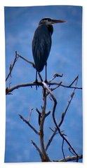 Great Blue Heron 3 Beach Towel