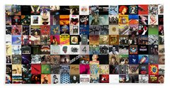 Greatest Rock Albums Of All Time Beach Towel