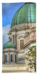 Green Dome's Of Italy Beach Towel