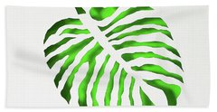 Green Monstra Beach Towel