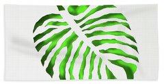 Green Monstra Beach Sheet