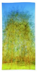 Green Towers Beach Towel