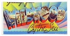 Wildwood Greetings - Version 1 Beach Sheet