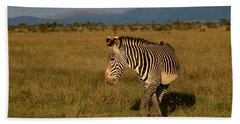 Grevy's Zebra Beach Towel