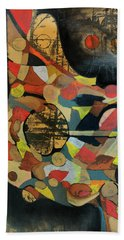 Grounded In Art Beach Towel
