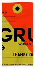Gru Sao Paulo Luggage Tag II Beach Towel