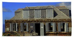Beach Towel featuring the photograph Guardhouse by Tony Murtagh