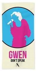 Gwen Poster II Beach Towel
