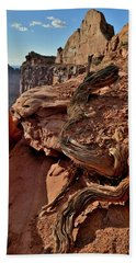 Half Dome At Green River Overlook In Canyonlands Beach Towel