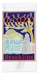 Happy Hanukkah Beach Sheet
