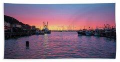 Harbour Lights Beach Towel