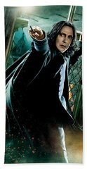 Harry Potter Severus Snape Beach Towel