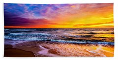 Hatteras Dawn  Beach Towel