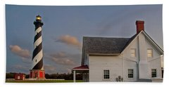 Hatteras Lighthouse No. 3 Beach Towel