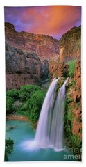 Havasu Falls Beach Towel