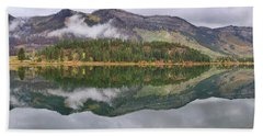 Beach Towel featuring the photograph Haviland Lake Pano by Theo O'Connor