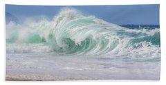 Hawaiian Shorebreak Beach Towel