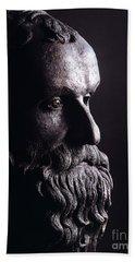 Head Of A Philosopher Beach Towel