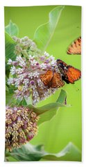 Head Over Heals For Milkweed Beach Towel