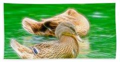 Headless Honey Duck Fibers Beach Towel