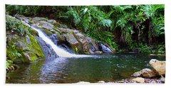 Healing Pool - Maui Hawaii Beach Towel