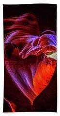 Heart Of Antelope Canyon Beach Towel