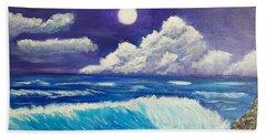 Heaven Meets Earth Beach Towel
