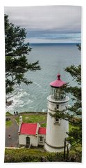 Heceta Head Lighthouse Beach Towel