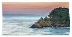 Heceta Lighthouse Beach Towel