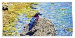 Heron Bluff Beach Towel