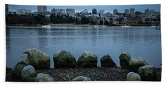 High And Low Tide Beach Towel