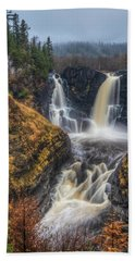 High Falls Beach Towel