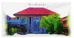 Historic Rio Grande Station Beach Sheet