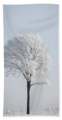 Hoar Frost At Bvg 2018-8 Beach Towel