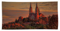Holy Hill Sunrise Beach Towel