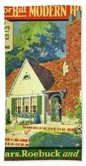 Honor Bilt Modern Homes Sears Roebuck And Co 1930 Beach Towel