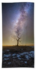 Beach Towel featuring the photograph Hopeless He Stays  by Aaron J Groen