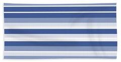 Horizontal Lines Background - Dde607 Beach Towel
