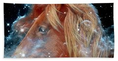 Beach Towel featuring the photograph Horsehead Nebula With Horse Head Outer Space Image by Bill Swartwout Fine Art Photography