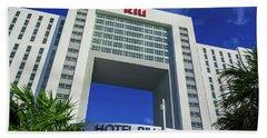 Hotel Riu Palace In Cancun Beach Towel