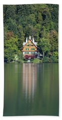 House On The Lake Beach Sheet
