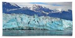 Hubbard Glacier Alaska Beach Towel