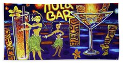 Hula Bar Beach Towel