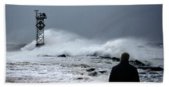 Beach Towel featuring the photograph Hurricane Watch by Bill Swartwout Fine Art Photography