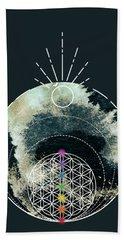 Beach Towel featuring the digital art I Am by Bee-Bee Deigner