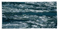 Ice Cold With Filter Beach Sheet