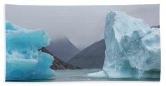 Ice Giants Beach Towel