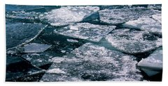 Ice Beach Towel