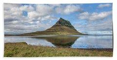 Iceland Mountain Beach Towel